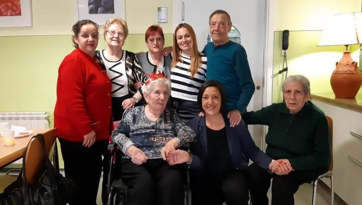 Pepita Gabarró i Bernades és la nova àvia centenària de Vilanova del Camí