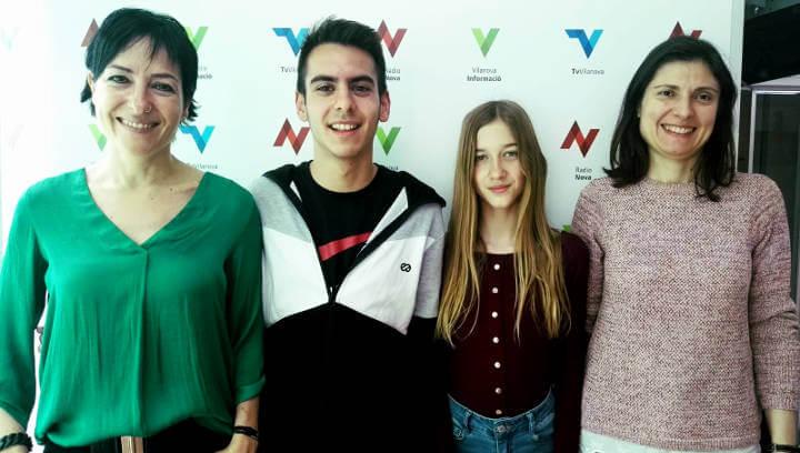 Els Premis Sambori han estat un reconeixement per a Núria Abad, Adrián Vázquez i tot l'Institut Pla de les Moreres | ÀUDIO