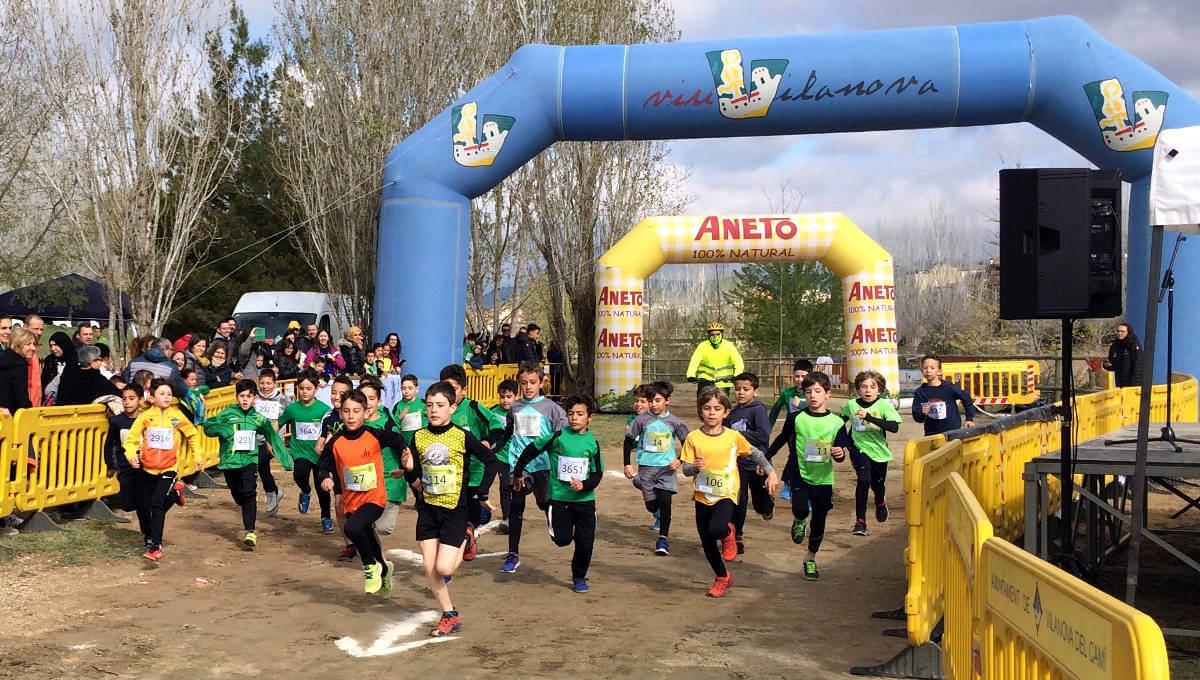 200 persones participen al 34è Cros Joan Maragall que va esdevenir novament una bona matinal esportiva | FOTOS