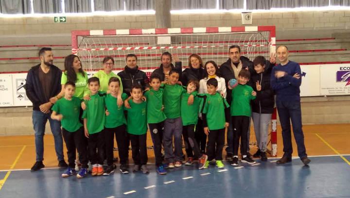 L'equip benjamí del Joan Maragall subcampió dels Jocs Escolars de l'Anoia