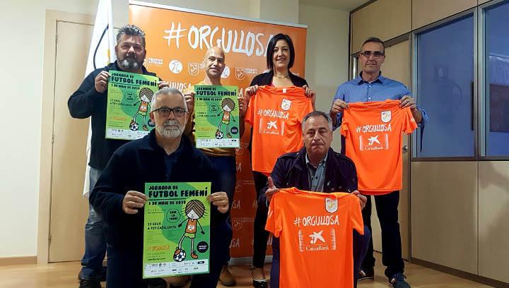Tot a punt per celebrar la 7a Jornada de Futbol Femení a l'Anoia l'1 de maig a Vilanova del Camí
