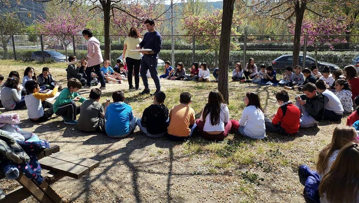 Les XXIX Jornades Ecològiques a l'Escola Pompeu Fabra s'han submergit en la cura del riu