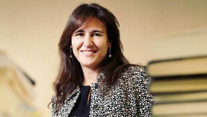 La candidata de Junts per Catalunya, Laura Borràs, dinarà amb l'agrupació comarcal a Vilanova del Camí