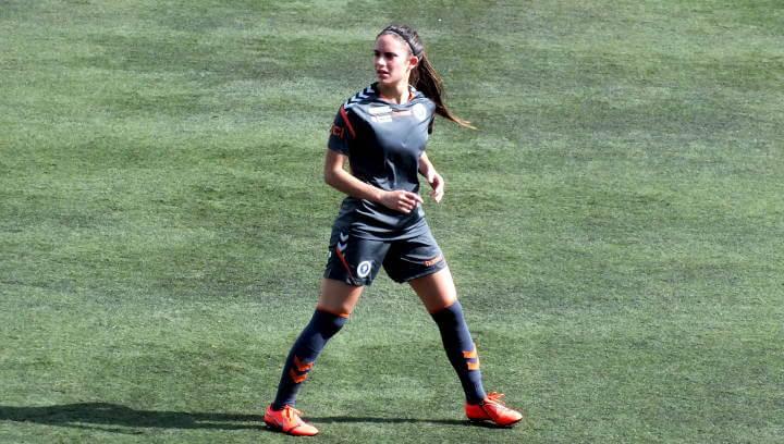 Laura Martínez ja és campiona de lliga amb el Zaragoza CFF i més a prop de l'objectiu de jugar a primera divisió