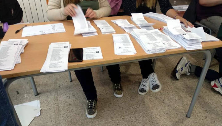 El PSC guanya les eleccions i creix gairebé 9 punts a Vilanova del Camí respecte les generals de 2016 | FOTOS