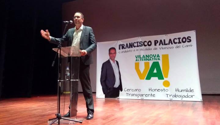 Francisco Palacios presenta una candidatura jove amb ganes de millorar i transformar Vilanova