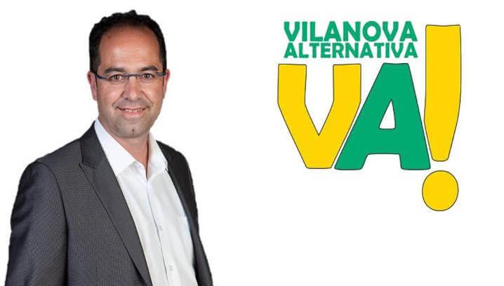 Vilanova Alternativa presentarà Francisco Palacios com a candidat a l'alcaldia de Vilanova del Camí