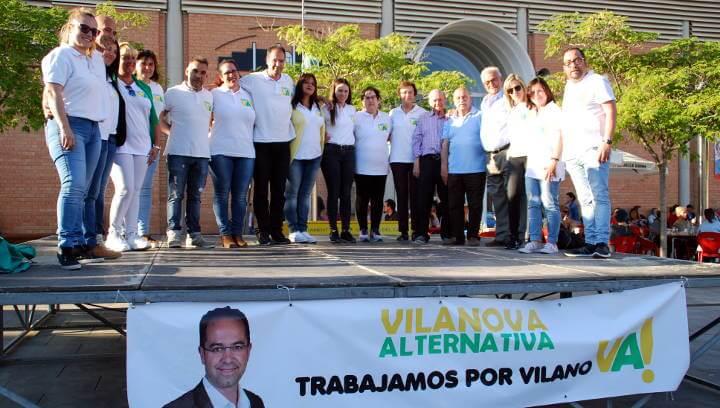 Vilanova Alternativa vol continuar treballant per Vilanova amb il·lusió i respecte
