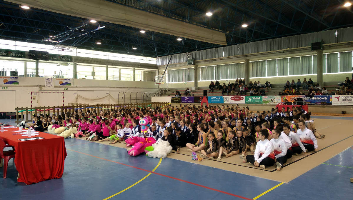 Gran èxit del IV Trofeu Gimnàstic Summer organitzat pel Club Gimnàstic Ballerina a Vilanova del Camí