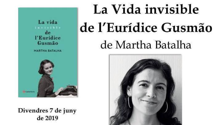 El Club de Lectura s'endinsa en 'La vida invisible de l'Eurídice Gusmão'