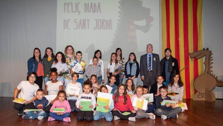 L'alumnat del Joan Maragall omple de literatura Can Papasseit en el marc dels 28ns Jocs Florals