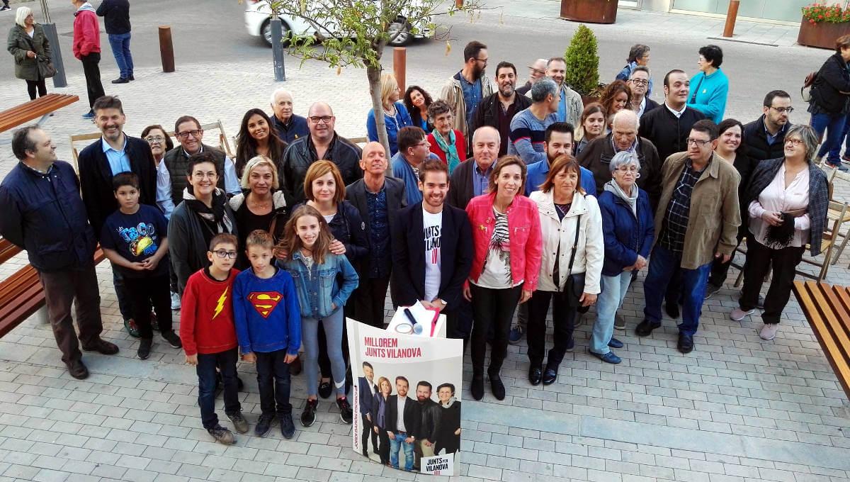 La consellera Chacón presenta Junts x Vilanova com una candidatura clau per al bon govern