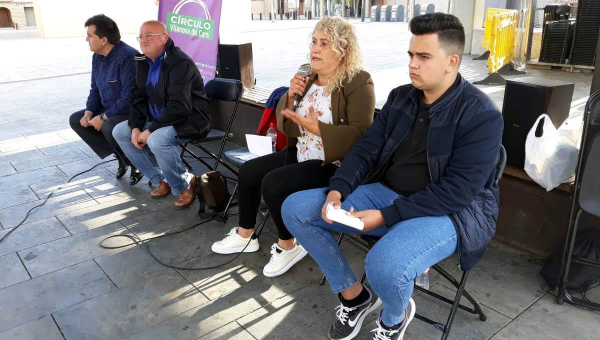 Podemos es presenta a Vilanova del Camí disposats a canviar les institucions i fer-les més participatives