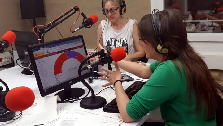 Ràdio Nova i Vilanova Informació, referents de la nit electoral a Vilanova del Camí amb la complicitat dels oients