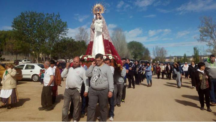 La UCE Anoia inicia els actes d'homenatge a la Virgen de los Hitos en un any especial pel 25è aniversari
