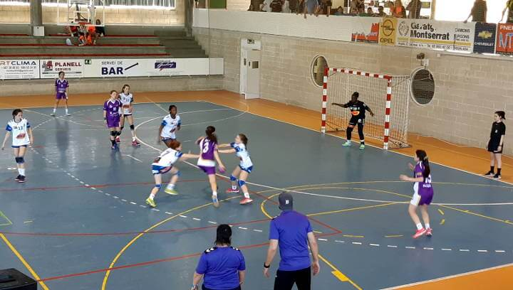 L'ASME guanya el TOP 4 de Primera Catalana Infantil Femenina a Can Titó i el CH Vilanova queda quart