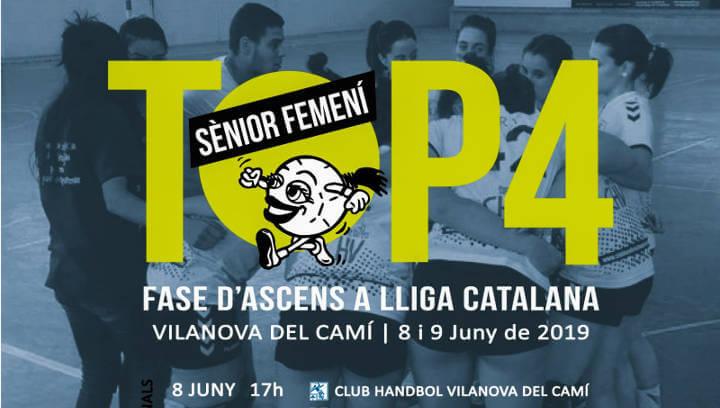 Can Titó acollirà el Top4 sènior d'handbol en què el CH Vilanova s'hi juga l'ascens de categoria