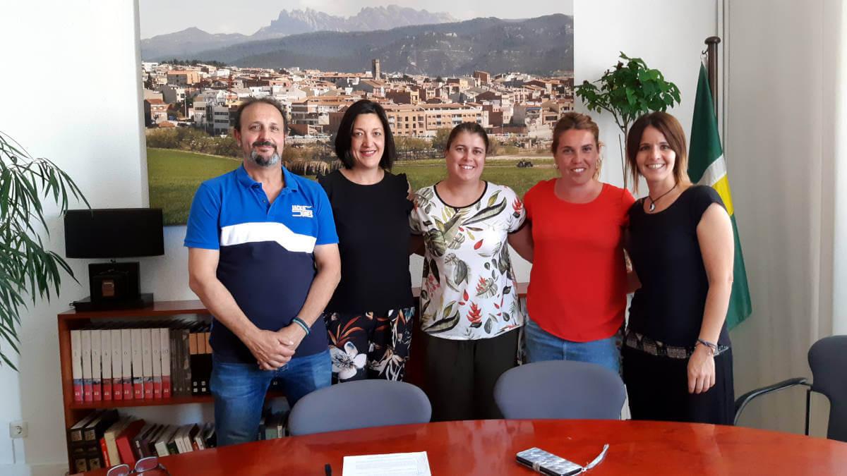 L'Ajuntament i l'Associació de Germanor compromesos amb el foment de les activitats d'interès social amb els pobles agermanats