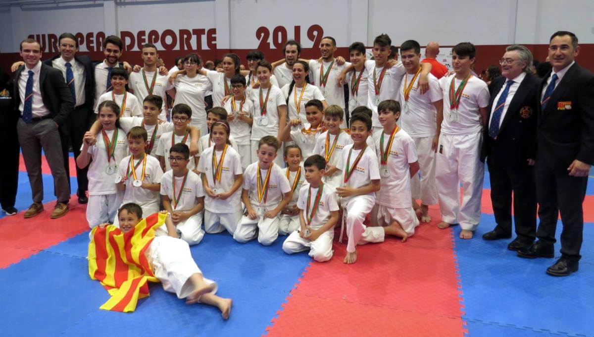 El CE Budokan Vilanova, millor equip al XIV Campionat d'Espanya de Nihon Taijitsu