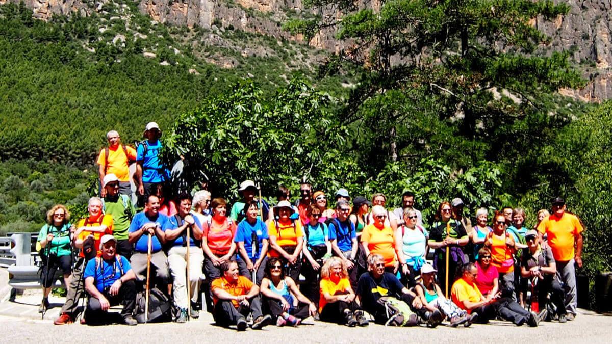 La Colla Excursionista de Vilanova del Camí acomiada la primavera al Congost de Mu