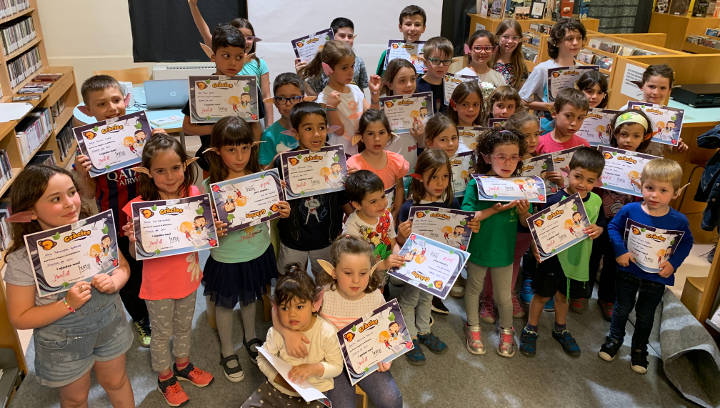 Èxit total de la Supernit a la Biblioteca de Vilanova del Camí que ha reunit 35 participants infantils i 24 adults