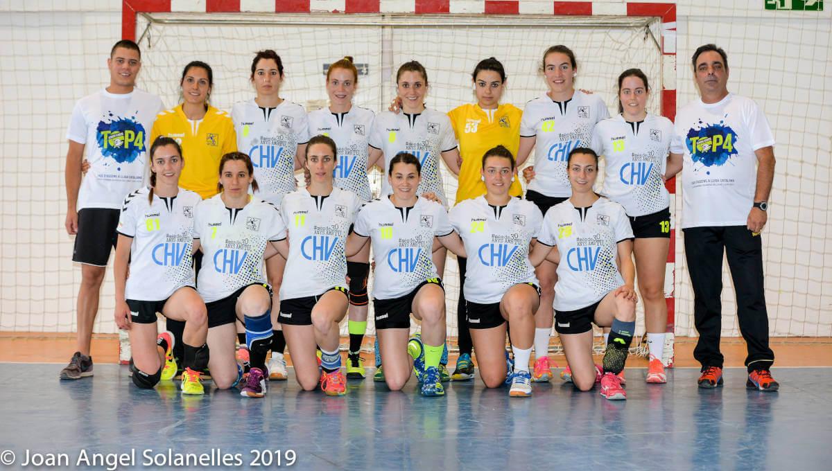 El Vilanova es proclama Campió del Top4 sènior femení i assoleix l'ascens a Lliga Catalana