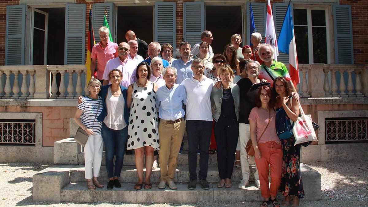 Vilanova del Camí present a la Festa d'Europa d'Amilly que va homenatjar la regió de La Toscana