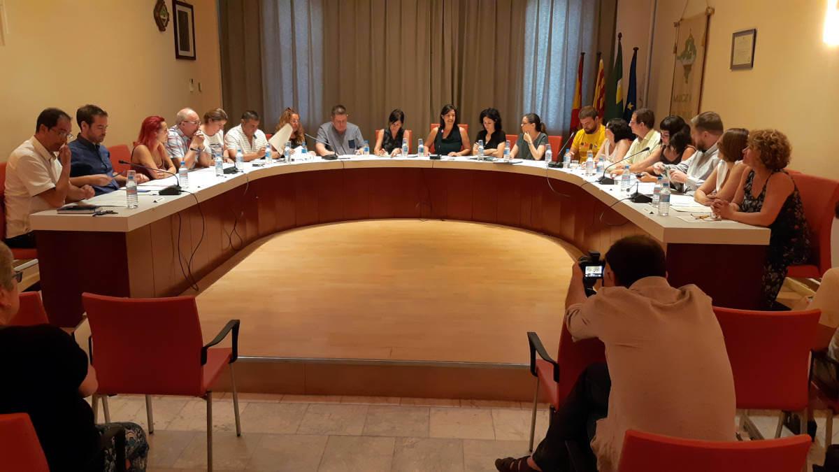 La incorporació d'un càrrec eventual per a tasques de direcció i coordinació municipal tensa el debat del Ple | CRÒNICA DEL PLE