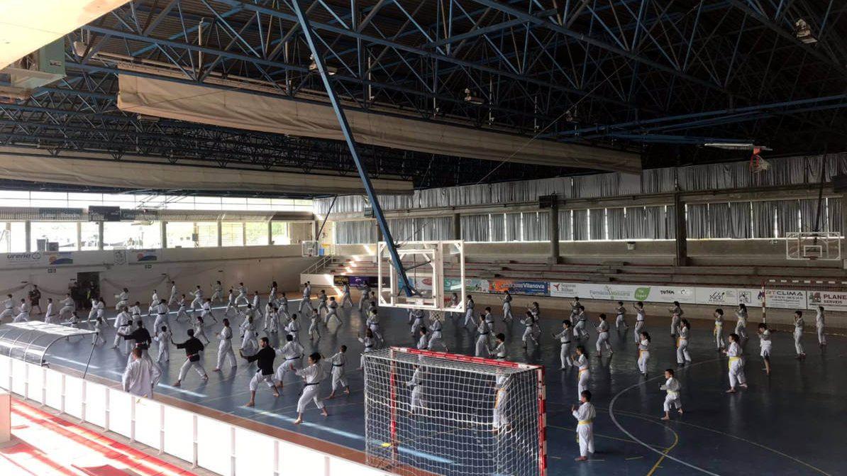 S'estrena amb èxit el Primer Campus Samurai Kids de Nihon Tai-Jitsu a Vilanova del Camí
