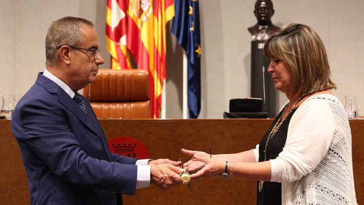 Núria Marín, proclamada nova presidenta de la Diputació de Barcelona