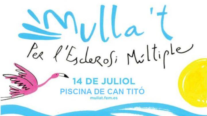 La piscina de Can Titó acollirà la jornada del Mulla't a l'Anoia per l'esclerosi múltiple, diumenge