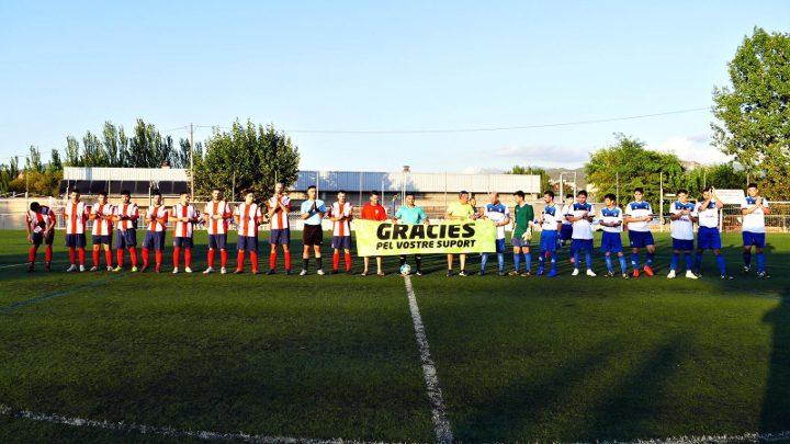 El CF Vilanova, a punt per la temporada, guanya l'amistós contra el Fàtima